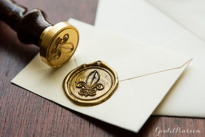 J. Herbin Brass Symbol Seal - Rose