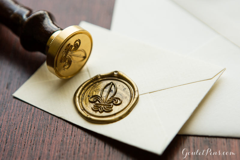 Herbin Brass Symbol Seal - Rose