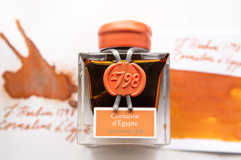 Jacques Herbin 1798 Cornaline d'Egypte - 50ml Bottled Ink