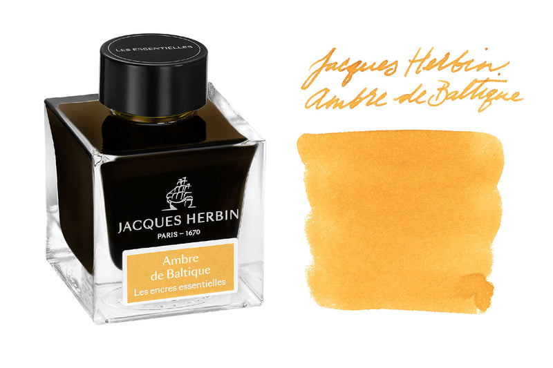 Jacques Herbin Ambre de Baltique - 50ml Bottled Ink