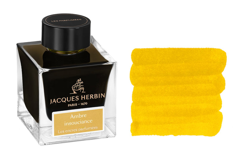 Jacques Herbin Ambre Insouciance - 50ml Scented Bottled Ink