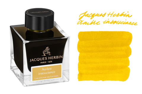 Jacques Herbin Amber Insouciance - 50ml Bottled Ink