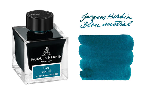 Jacques Herbin Bleu Austral - 50ml Bottled Ink