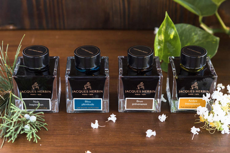 Jacques Herbin Amber Insouciance - 50ml Scented Bottled Ink
