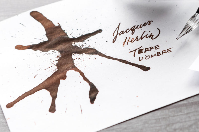 Jacques Herbin Terre d'Ombre - Ink Sample