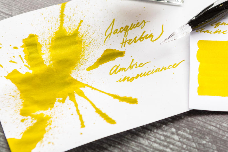 Jacques Herbin Ambre Insouciance - Ink Sample (scented)
