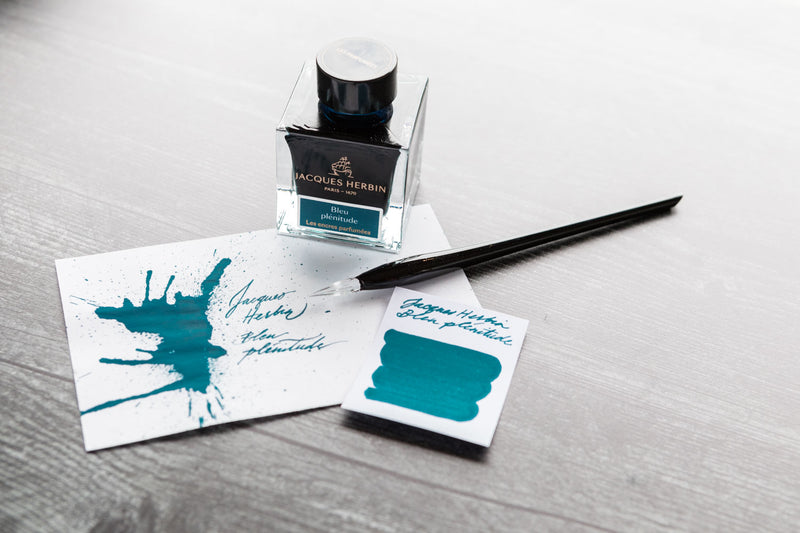 Jacques Herbin Bleu Plénitude - 50ml Scented Bottled Ink