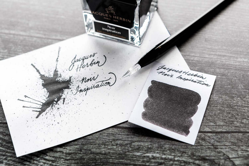 Jacques Herbin Noir Inspiration - 50ml Scented Bottled Ink