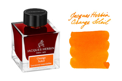 Jacques Herbin Orange Soleil - 50ml Bottled Ink