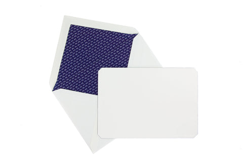Jacques Herbin Stationery Set - Blue (C6)