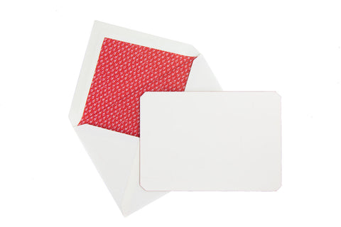 Jacques Herbin Stationery Set - Red (C6)