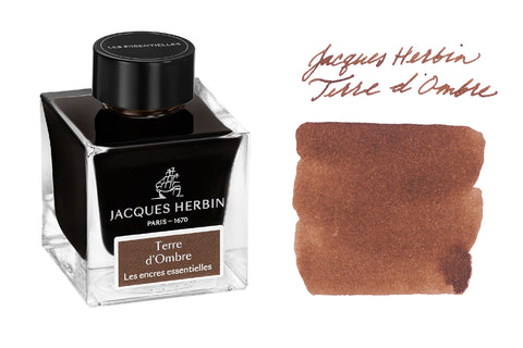 Jacques Herbin Terre d'Ombre - 50ml Bottled Ink