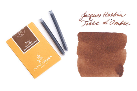 Jacques Herbin Terre d'Ombre - Ink Cartridges