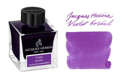 Jacques Herbin Violet Boreal - 50ml Bottled Ink