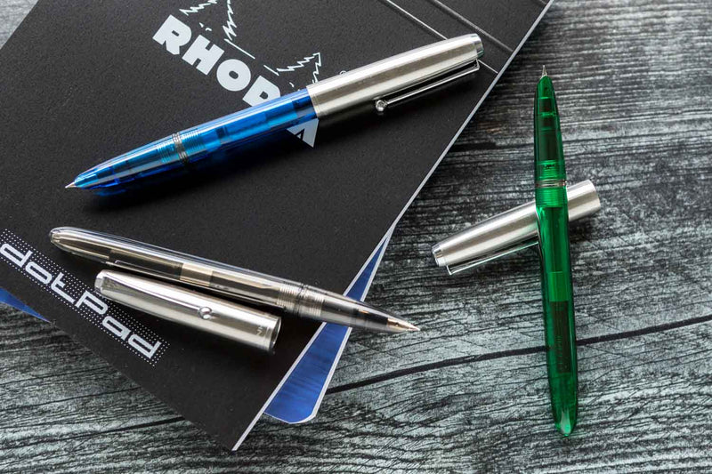 Jinhao 51A Demonstrator Fountain Pen - Blue