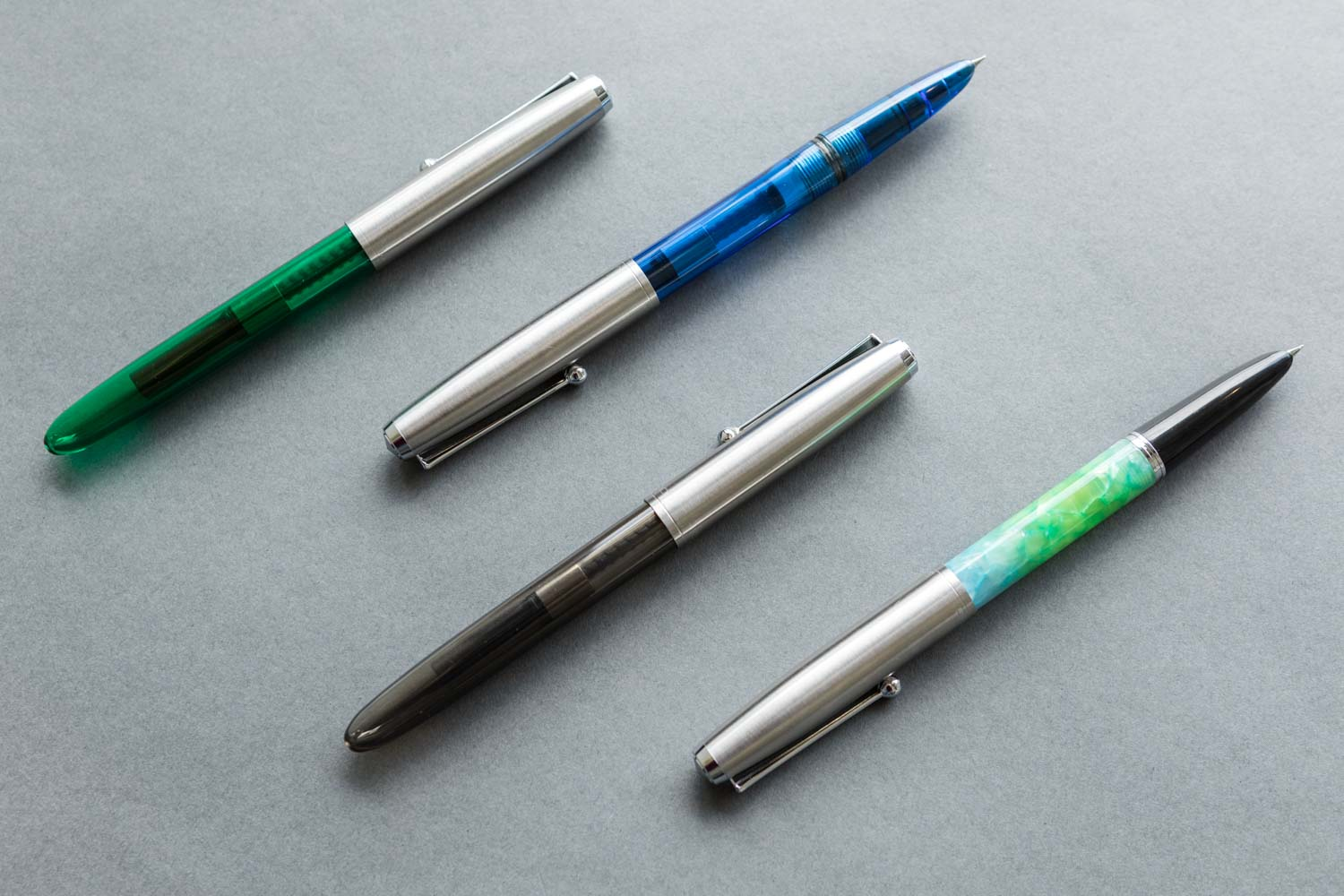 Translucent Blue 0.38-2.9 mm nibs Jinhao 51A Calligraphy Fountain Pen
