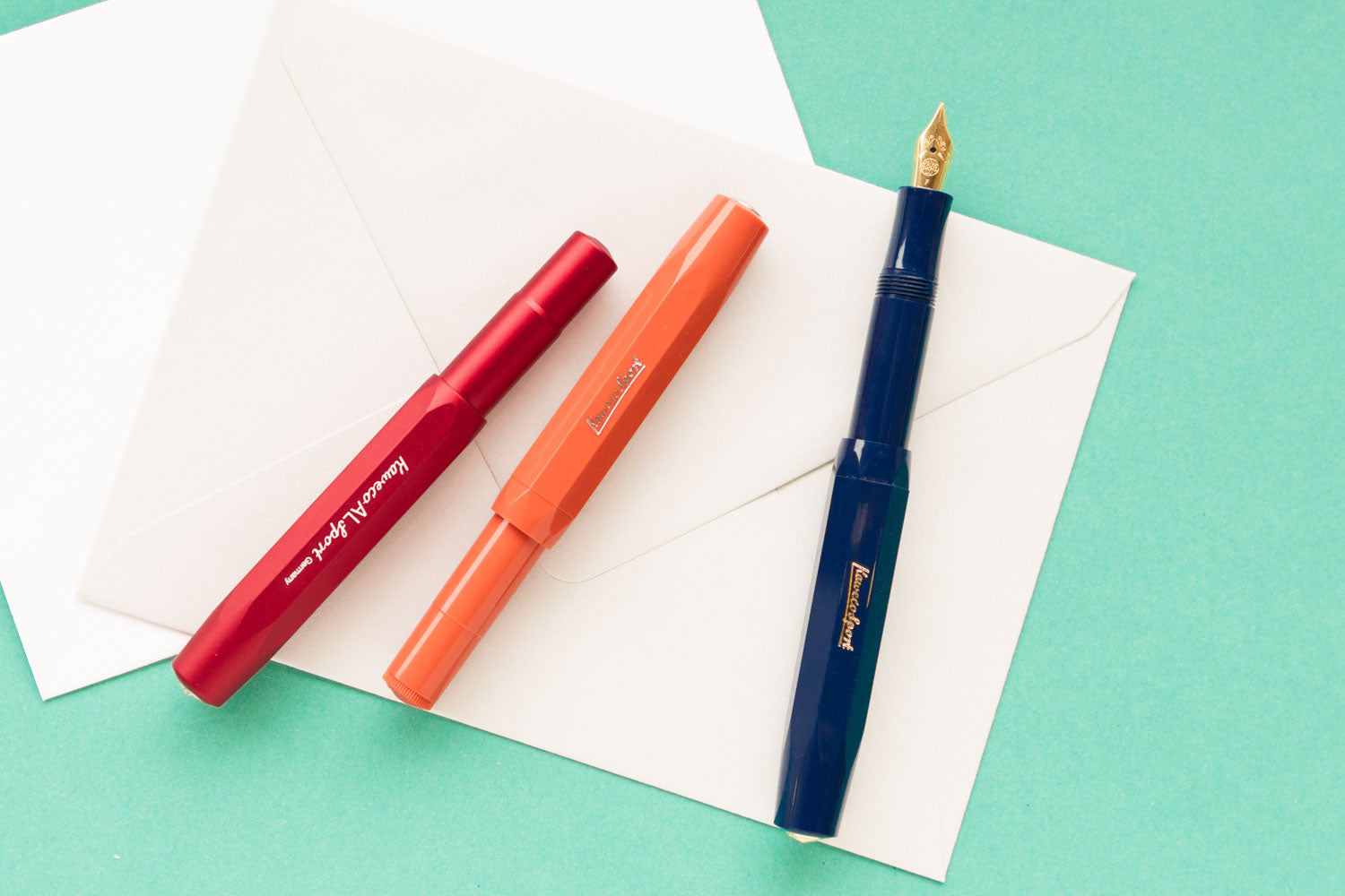 Kaweco AL Sport Fountain Pen - Deep Red