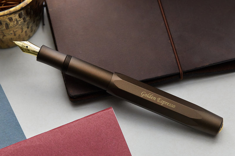 Kaweco AL Sport Fountain Pen - Golden Espresso (Limited Production)