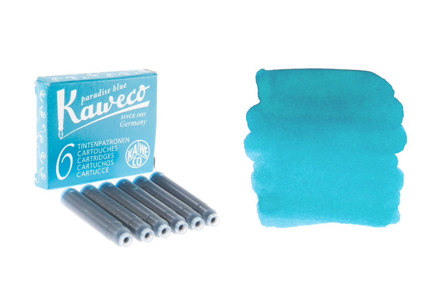 Kaweco Paradise Blue - Ink Cartridges