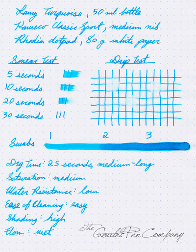 LAMY Turquoise - 50ml Bottled Ink