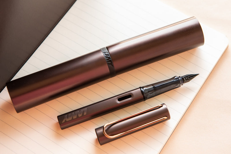 LAMY LX Fountain Pen - Marron (Special Edition)