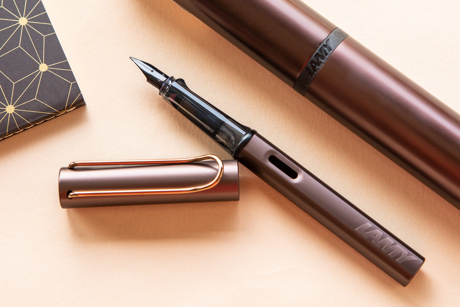 LAMY LX Fountain Pen - Marron