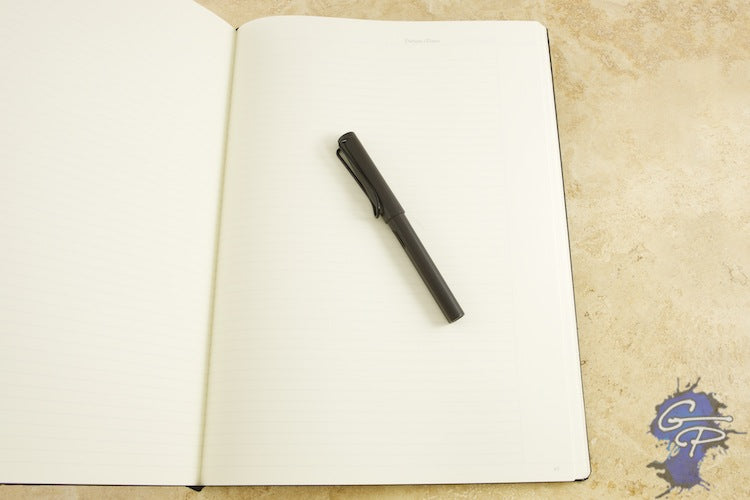 Leuchtturm1917 Master Notebook - Black, Lined (8.86 x 12.40)