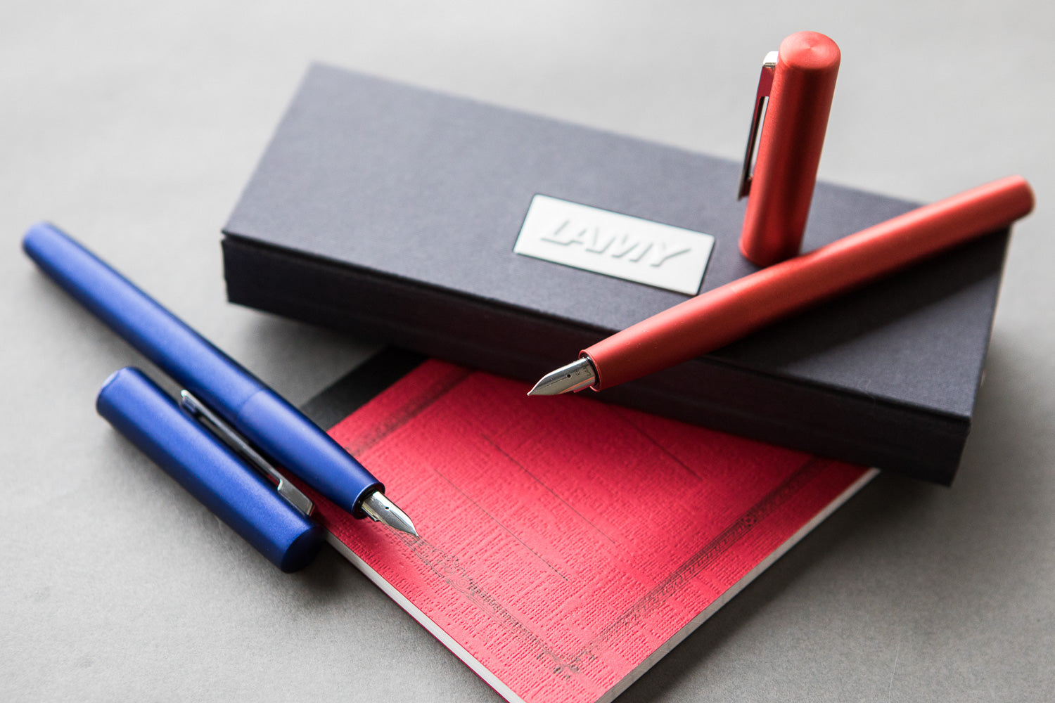 LAMY Aion Fountain Pen - Red (Special Edition)