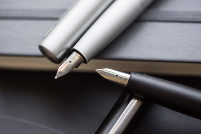 LAMY Aion Fountain Pen - Olivesilver