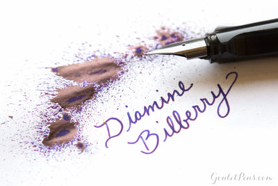 Diamine Bilberry - Ink Sample