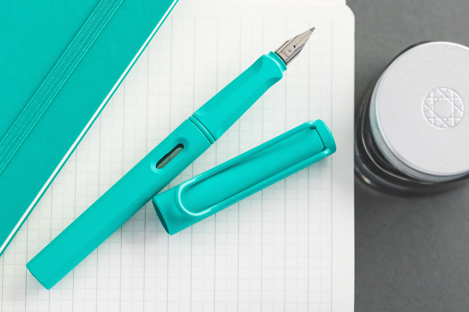 LAMY Safari Fountain Pen - Aquamarine (Special Edition)