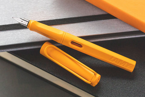 LAMY Safari Fountain Pen - Mango (Special Edition)