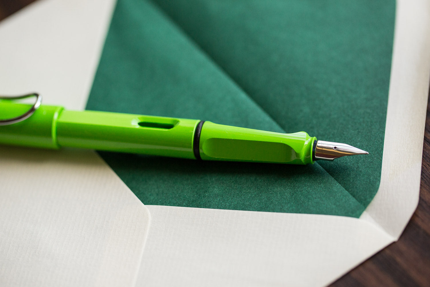 LAMY Safari Fountain Pen - Green