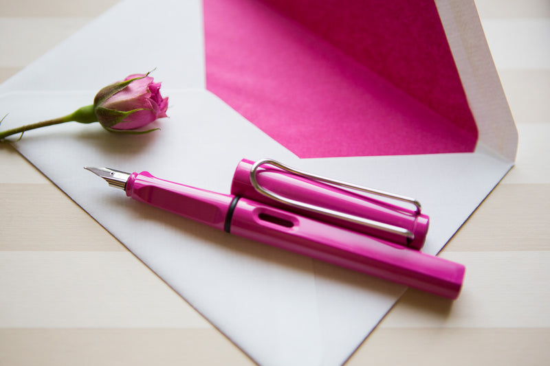 LAMY Safari Fountain Pen - Pink