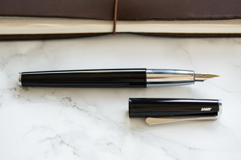 LAMY Studio Fountain Pen - Piano Black