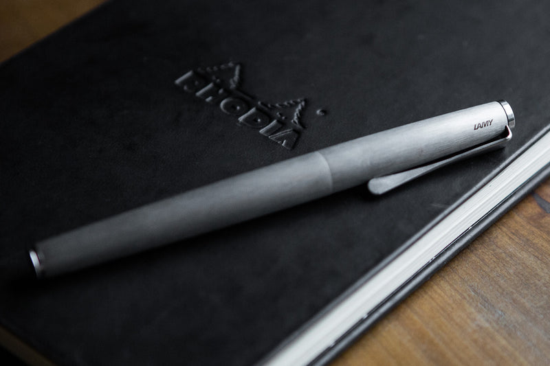 LAMY Studio Fountain Pen - Stainless Steel