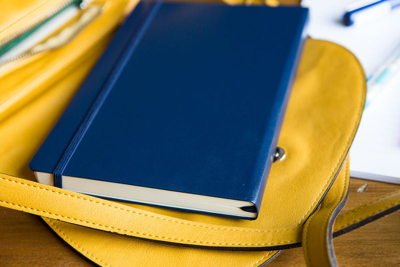 Leuchtturm1917 Medium A5 Notebook - Navy, Lined (5.71 x 8.27)