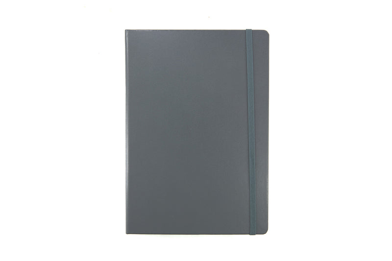 Leuchtturm1917 Medium A5 Notebook - Anthracite Grey, Dot Grid (5.71 x 8.27)