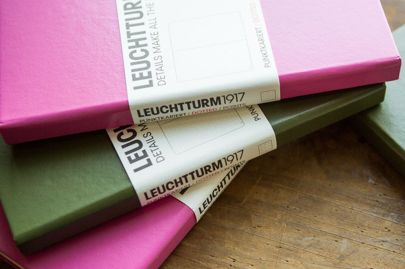 Leuchtturm1917 Medium A5 Notebook - Army Green, Dot Grid (5.71 x 8.27)