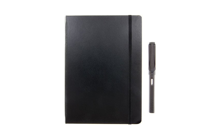 Leuchtturm1917 Medium A5 Notebook - Black, Dot Grid