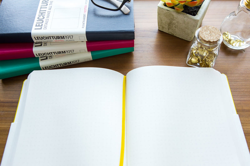 Leuchtturm1917 Medium A5 Notebook - Lemon, Dot Grid (5.71 x 8.27)