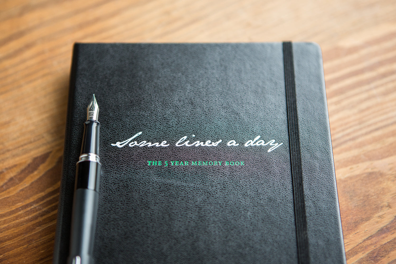 Leuchtturm1917 Some Lines a Day 5 Year Memory Notebook - Black