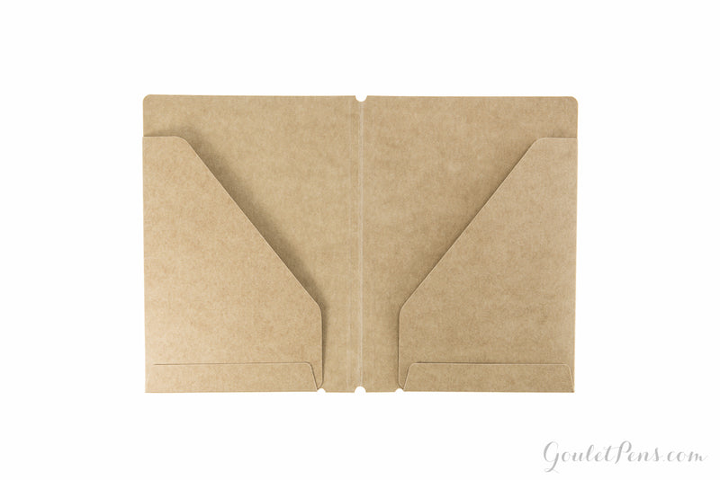Traveler's Notebook Accessory 010 - Kraft File Folder (Passport)