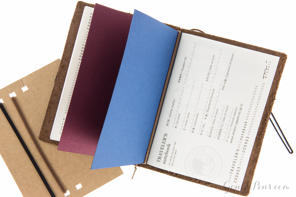 Traveler's Notebook Accessory 011 - Connecting Rubber Bands (Passport)