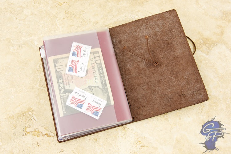 Traveler's Notebook Accessory 004 - Zippered Pocket (Passport)