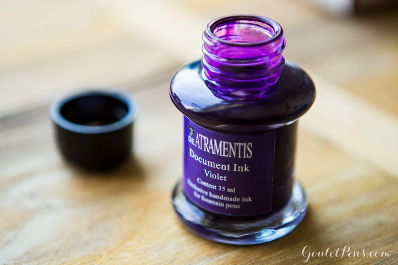 De Atramentis Document Ink Violet - 35ml Bottled Ink