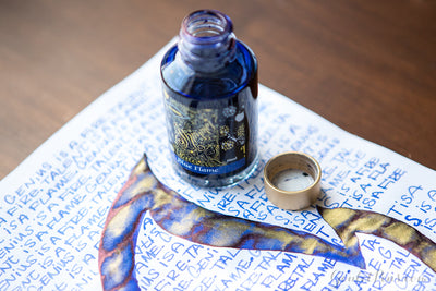 Diamine Blue Flame - 50ml Bottled Ink