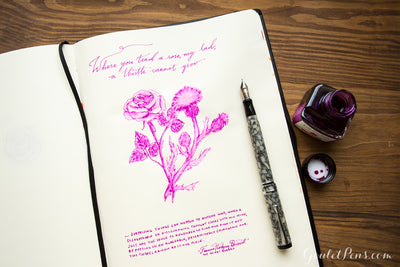 J. Herbin Rose Cyclamen - 30ml Bottled Ink