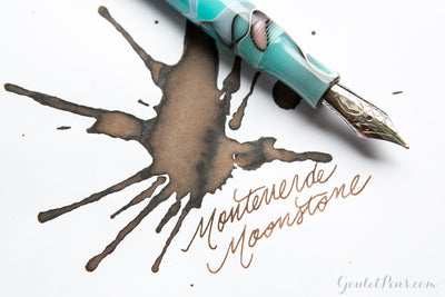 Monteverde Moonstone - Ink Sample