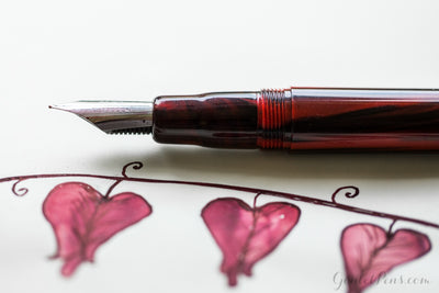 Noodler's Ahab Flex Fountain Pen - Cardinal Darkness